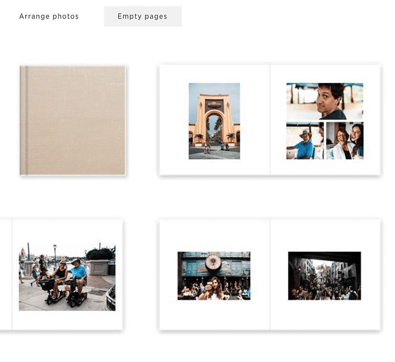 Offer album design services